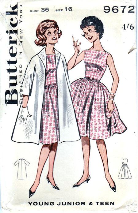 Pattern - Butterick 9672