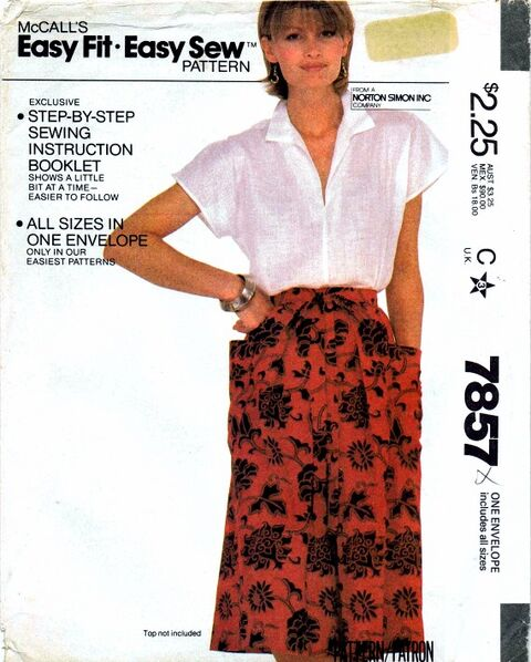 McCalls 1982 7857