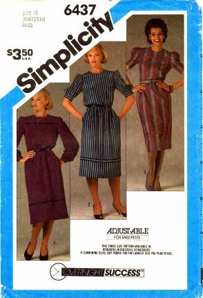 Simplicity 1984 6437