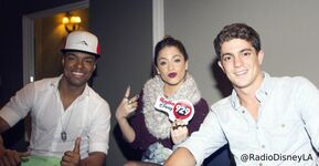 Samuel, Tini and Facundo