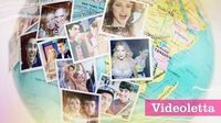 Violetta 3 English Around the world (Music video)