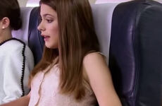Violetta On Plane