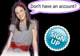 Make an account (update)