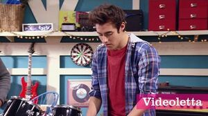 """Violetta 3 English Leon sings """"For all of my life"""" Ep"""