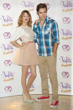 Martina Stoessel and Jorge Blanco 2013