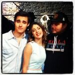 Martina, Jorge and another guy!