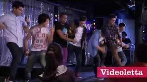"Violetta 2 English - Guys singing ""Lights, camera and action"" Ep"