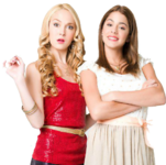 Violetta and Ludmila promotional pic