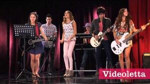 "Violetta 2 English Violetta sing ""Something lights up again"" Ep"