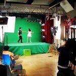 Pablini filming Entre tu y yo