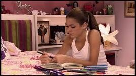 Habla Si Puedes Vilu writing in her diary