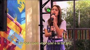 Violetta Violetta canta ¨Habla si puedes¨ no Restó Bar