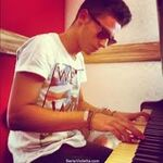 Ruggero playing piano