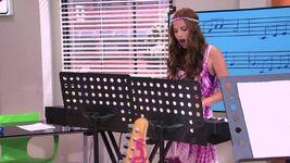 Camila playing piano