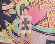 Tini in her room