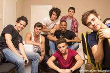 Toti, Diego, Xabi, Rugge, SamuK, Facu, Jorge