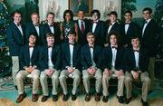Virginia Gentlemen 2011 with the Obamas