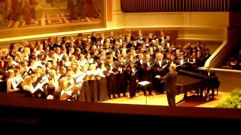The University of Virginia Glee Club, Women's Chorus, and University Singers - Family Weekend '08