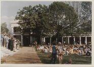 Glee Club 1975-1976 Photo Lawn side
