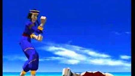 Virtua Fighter intro Sega Saturn