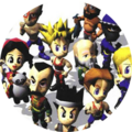 Virtua Fighter Kids Button