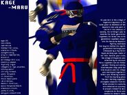 Virtua Fighter Art Kage01