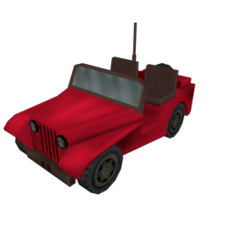 Jeep rood preview