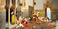 Harem Painting
