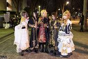 Versailles Cosplay