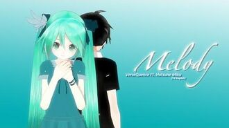 VerseQuence Ft. 初音ミク V3 English - Melody MMD PV