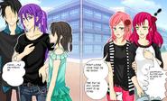 In school Naomi and Yukiko