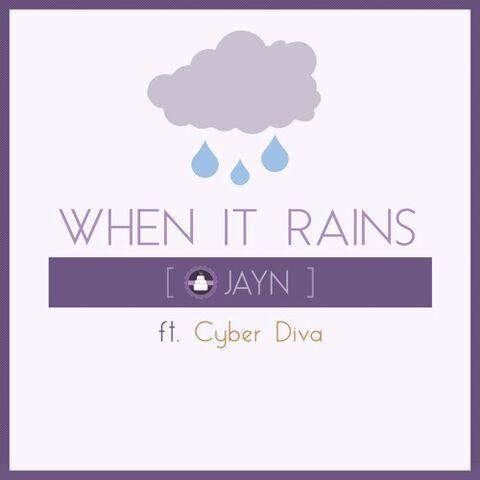 File:When It Rains album art - Jayn ft. CYBER DIVA.jpg
