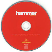 Hammer album disc