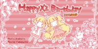 HappyX2 Birthday