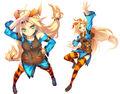 Otori debut outfit