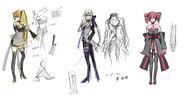 Synchronicity Neru Haku Teto - Concept Art