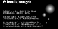 C lonely tonight