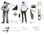 Synchronicity Kaito - Concept Art 2