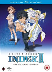 Toaru Majutsu no Index II DVD Cover
