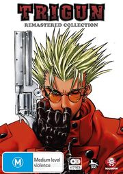 Trigun DVD Cover