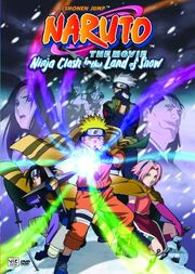 Naruto The Movie - Ninja Clash in the Land of Snow DVD Cover