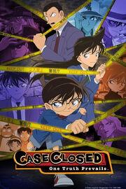 Case Closed DVD Cover