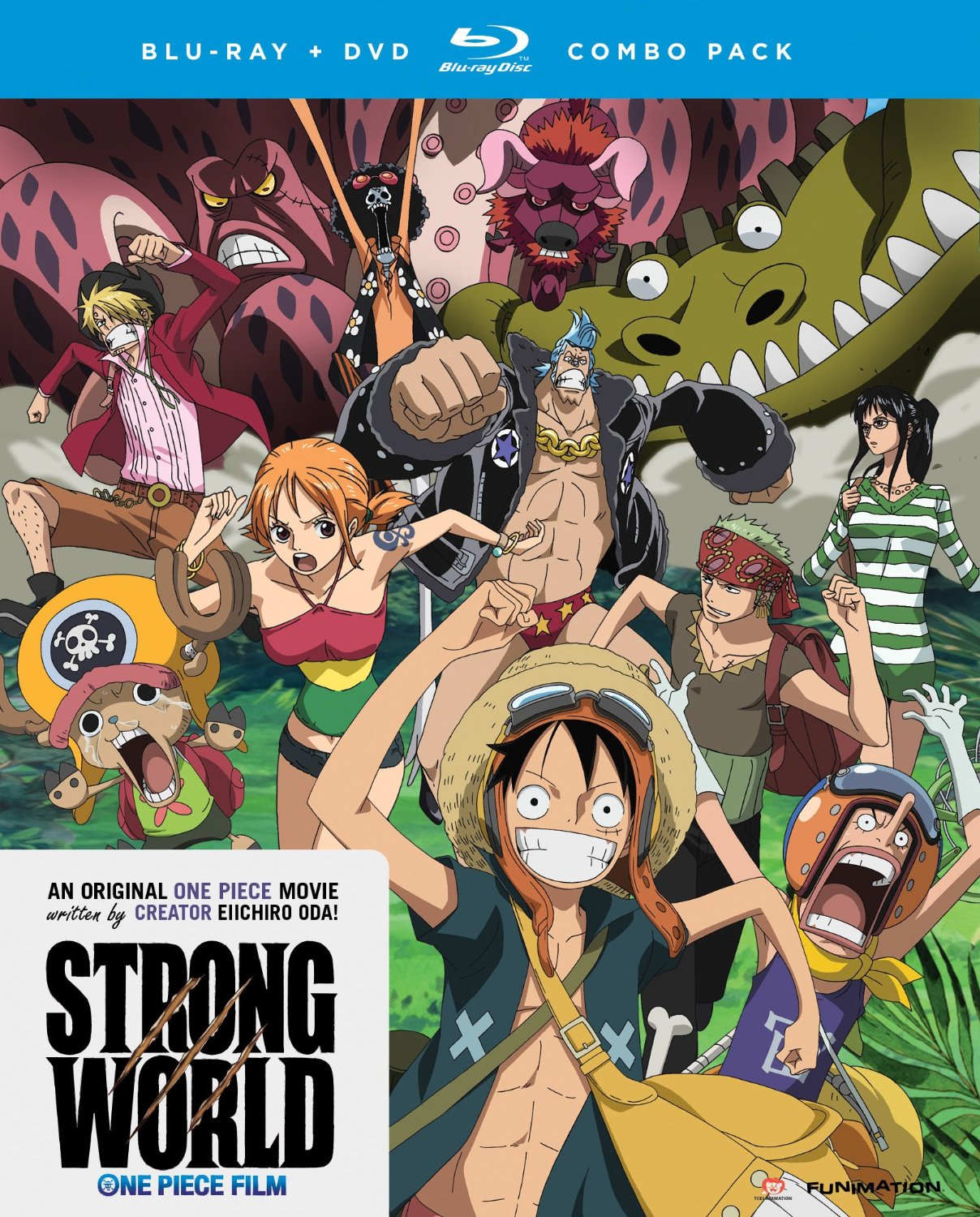 One Piece Film: Strong World   Anime Voice-Over Wiki ...