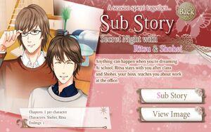 A Secret Night with Ritsu & Shohei