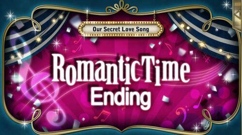 Scandal in the Spotlight Romantic Time Ending
