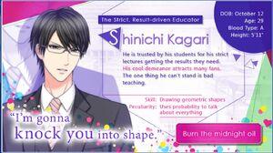 Shinichi Kagari - Profile