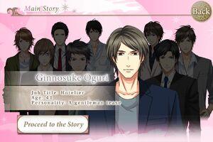 Ginnosuke Oguri - Profile
