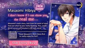 His PoV - Main Story - Masaomi Hibiya - Profile