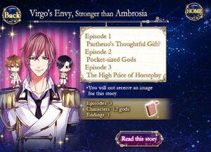 Virgo's Envy, Stronger than Ambrosia