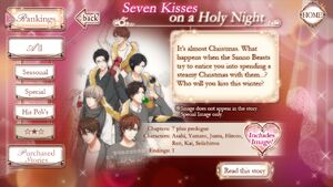 Seven Kisses on a Holy Night Info